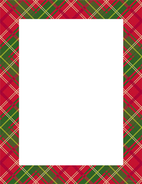 Holiday Paper Country Plaid