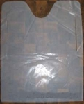 Plastic Bibs - STOCK PLAIN WHITE BIBS
