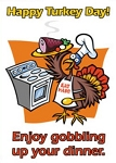 Holiday Cards - Thanksgiving Collection - Gobble Gobble