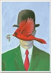 Holiday Cards - Humorous Christmas Cards - SON OF MAN