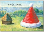 Holiday Cards - Humorous Christmas Cards - SANTA CLAUDE