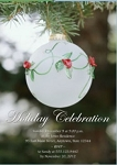 Invitations - Holiday Themed Invites - Ornamental