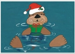 Holiday Cards - Nautical Cards - OTTER JOY