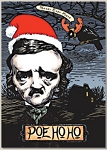 Holiday Cards - Humorous Christmas Cards - POE HO HO