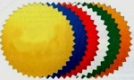 Certificate Seals, choose of color
