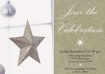 Invitations - Holiday Themed Invites - Starry Celebration