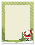 HOLIDAY PAPER - Jolly Santa Claus