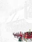 HOLIDAY PAPER - Santa Sleigh