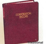 CORPORATE RECORD BOOKS