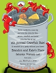 NAUTICAL PAPER:  Crawfish Hot Boil