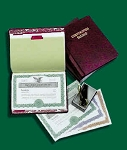 Complete Corporate Record Book Kit