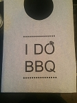STOCK DESIGN - I DO BBQ DIAMOND DESIGN BIBS