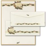 HOLIDAY PAPER - Vintage Christmas Holly Letterhead