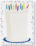 PARTY PAPER: Cake Letterhead
