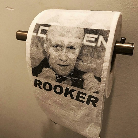 Personalised toilet paper photo