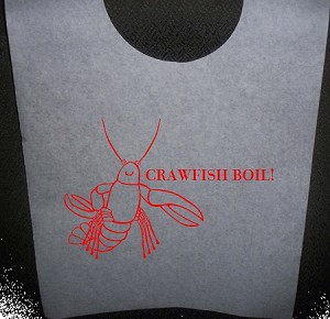 STOCK DESIGN - CRAWFISH BOIL BIBS