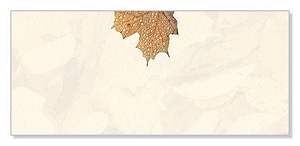 FALL PAPER: Crushed Leaves Envelopes