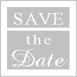 Save-the-Date seals, pack of 25