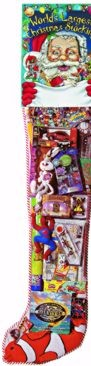 8' GIANT TOY FILLED HOLIDAY STOCKING - STANDARD