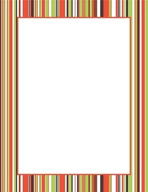 FALL PAPER:  Fall Stripes