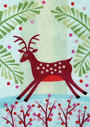 Holiday Cards - Nature - Meadow Crossing