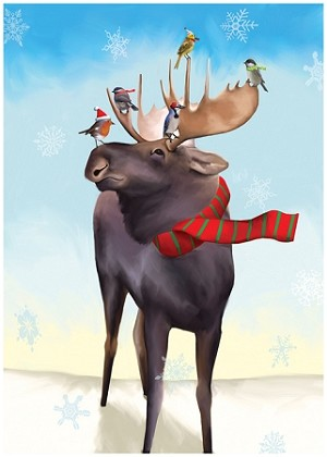Holiday Cards - Nature - MOOSE TAXI