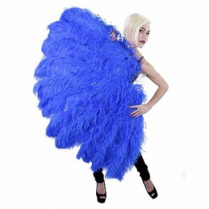 LARGEST Ostrich Feather Fan Available