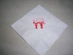 Luncheon Table Napkins with imprint