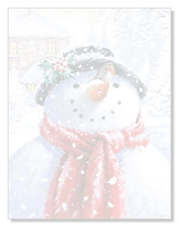 HOLIDAY PAPER - Snowman Face