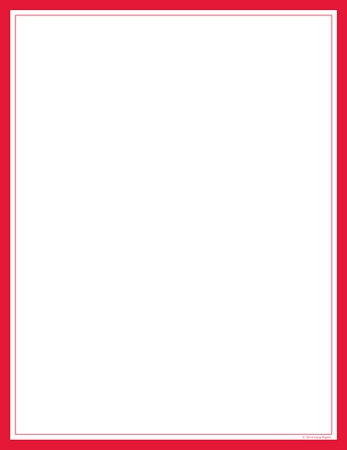 GENERAL DESIGN - Red Border