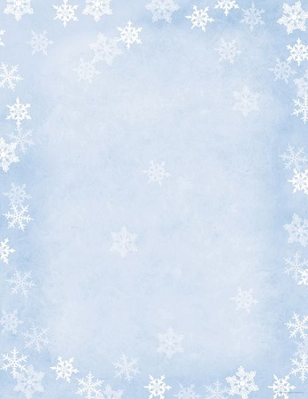 HOLIDAY PAPER - Winter Flakes