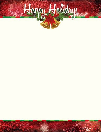 HOLIDAY PAPER: Happy Holiday Bells