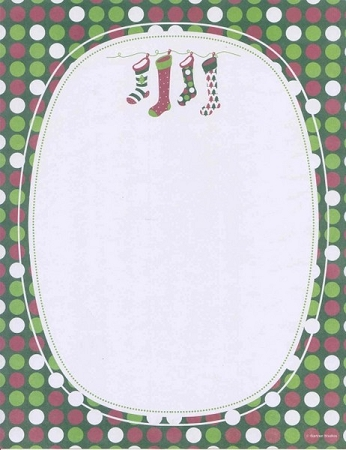 HOLIDAY PAPER: Whimsy Stockings