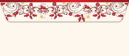 HOLIDAY ENVELOPES: Ivy and Berries