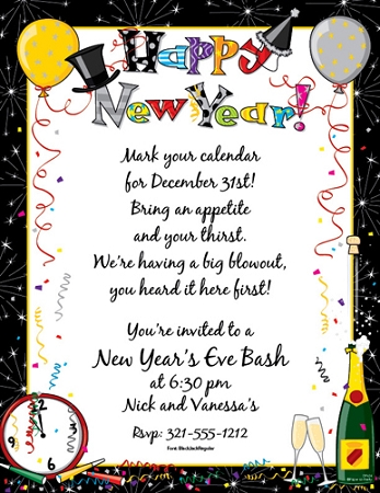 NEW YEARS PAPER - Happy New Year