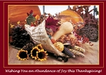 Holiday Cards - Thanksgiving Collection - Abundant Thanks