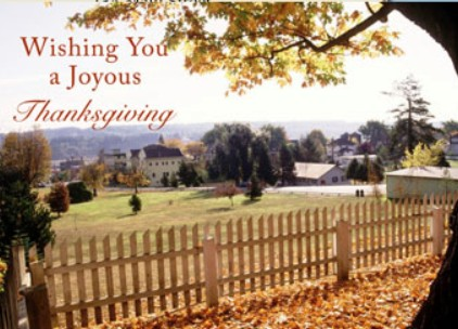 Holiday Cards - Thanksgiving Collection - A Joyous Thanksgiving