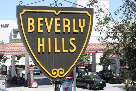 Holiday Cards - Regional Christmas Collection - Beverly Hills Sign