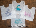 Plastic Bibs - STOCK CHILD DESIGN