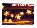 Holiday Cards - Regional Christmas Collection - Chicago's Navy Pier Snowflakes
