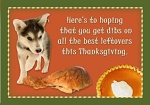 Holiday Cards - Thanksgiving Collection - Dibs on Dinner
