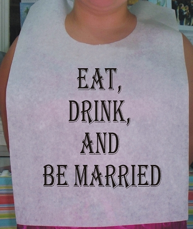 STOCK DESIGN - EAT, DRINK & BE MARRIED 1