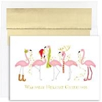 Holiday Cards - Regional Holiday Collection - Flamingo Fashion Show