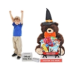 GIANT PLUSH BEAR w/TOYS - HALLOWEEN