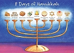 Holiday Cards - Humorous Cards - EIGHT DAYS HANUKKAH CARD