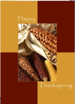Holiday Cards - Thanksgiving Collection - Holiday Corn