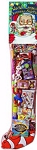 GIANT 8' TOY FILLED HOLIDAY STOCKING - DELUXE