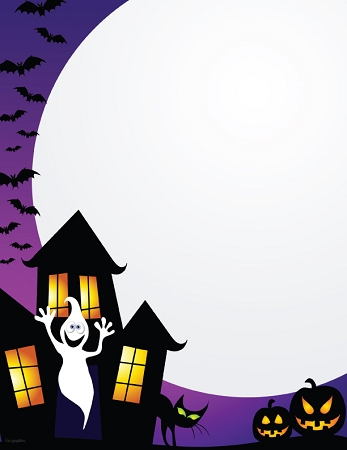 HALLOWEEN PAPER - Haunted House