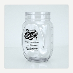 Custom Printed Mason Jar with One Color Imprint