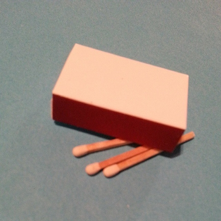 White Matchboxes, blank